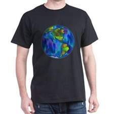 Planet Earth Art T-Shirt