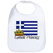 Greek Princess Bib