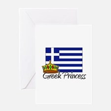 Greek Princess Greeting Card