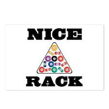 Pool Nice Rack Postcards (Package of 8)