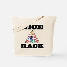 Pool Nice Rack Tote Bag