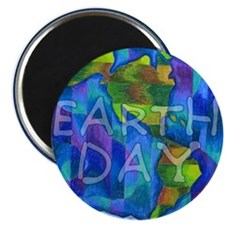 """Earth Day Planet 2.25"""" Magnet (100 pack)"""