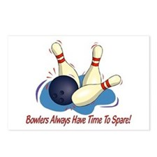 Bowlers Always Have... Postcards (Package of 8)