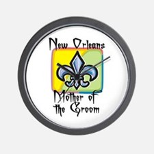 New Orleans Mother of the Groom Wall Clock
