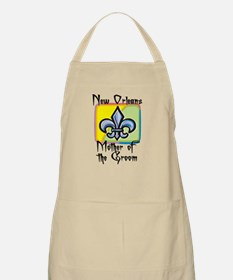 New Orleans Mother of the Groom BBQ Apron