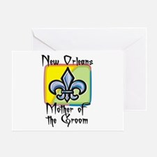 New Orleans Mother of the Groom Greeting Card