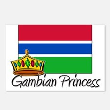 Gambian Princess Postcards (Package of 8)
