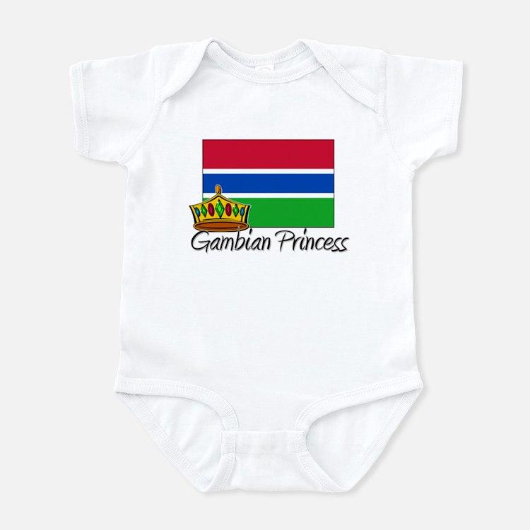 Gambian Princess Infant Bodysuit