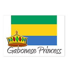Gabonese Princess Postcards (Package of 8)