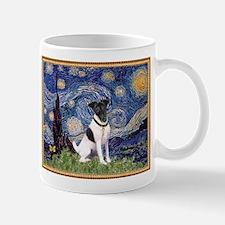 Starry Night & Smooth Fox Terrier Mug