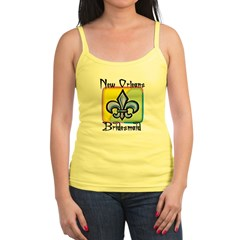 New Orleans Bridesmaid Jr. Spaghetti Tank