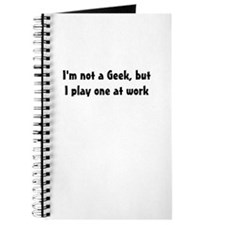 Not a Geek Journal