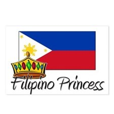 Filipino Princess Postcards (Package of 8)