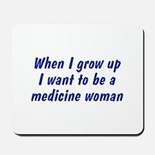 WIGU Medicine Woman Mousepad