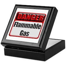 Danger: Flammable Gas Keepsake Box