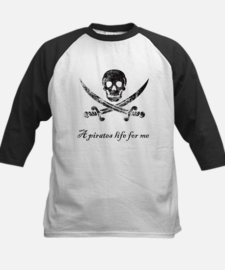 A pirates life for me Kids Baseball Jersey