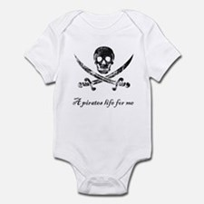 A pirates life for me Infant Bodysuit