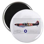 Supermarine Spitfire Aircraft Magnet