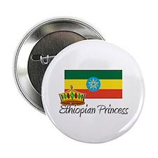 "Ethiopian Princess 2.25"" Button"