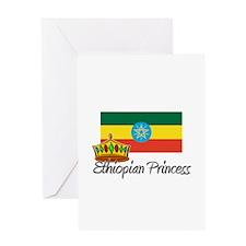 Ethiopian Princess Greeting Card