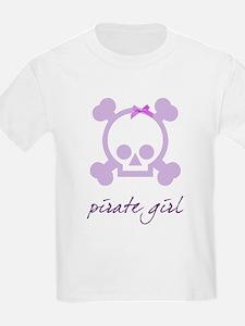 Pirate girl purple T-Shirt