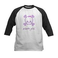 Pirate girl purple Tee