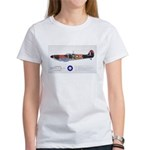 Supermarine Spitfire Aircraft Women's T-Shirt