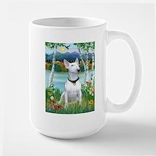 Country Briches & Bull Terrier Mug