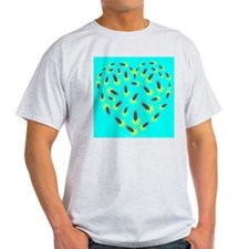 Firefly Heart Ash Grey T-Shirt