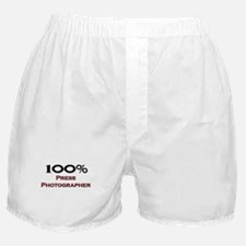 100 Percent Press Photographer Boxer Shorts