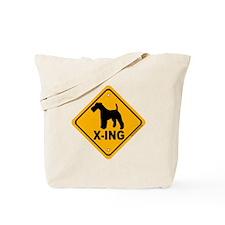 W.F.T. X-ing Tote Bag