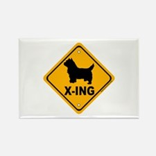 Westie X-ing Rectangle Magnet (10 pack)