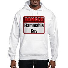 Danger: Flammable Gas Hoodie