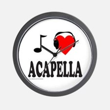 ACAPPELLA Wall Clock