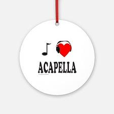 ACAPPELLA Ornament (Round)