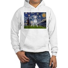 Starry Night/Bull Terrier Hoodie