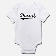 Vintage Darryl (Black) Infant Bodysuit