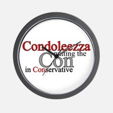 Condoleezza Rice Wall Clock