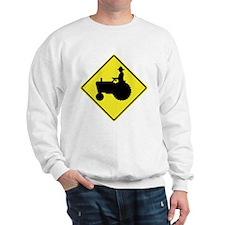 Tractor Crossing 2 Sweatshirt