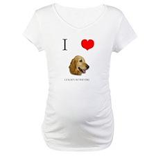 I Love Golden Retrievers Shirt