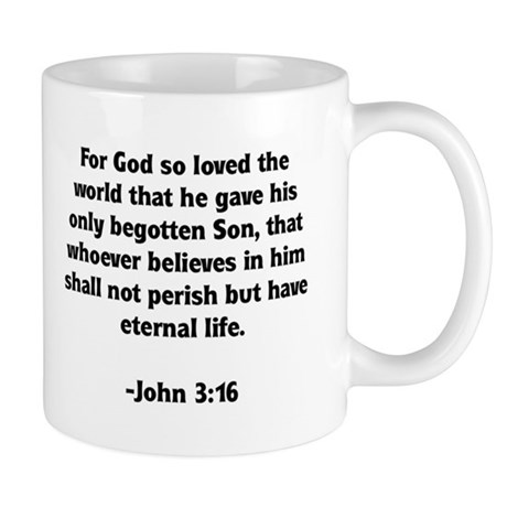 God's Love John 3:16 Mug