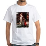 Accolade/Bull Terrier 1 White T-Shirt