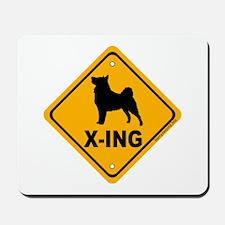 Vallhund X-ing Mousepad