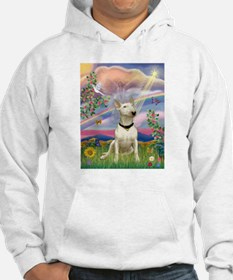 Cloud Angel/Bull Terrier Hoodie