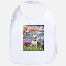 Cloud Angel/Bull Terrier Bib