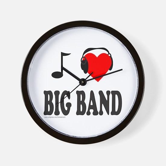 BIG BAND MUSIC Wall Clock