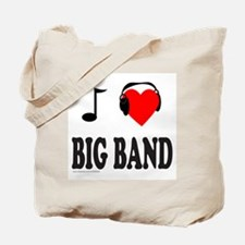 BIG BAND MUSIC Tote Bag