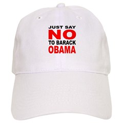 Anti-Barack Obama Baseball Cap