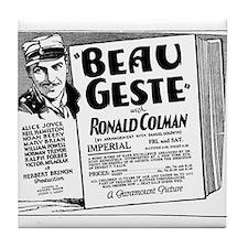 Ronald Colman Beau Geste Tile Coaster