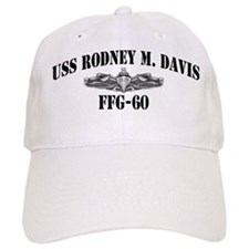 USS RODNEY M. DAVIS Baseball Cap